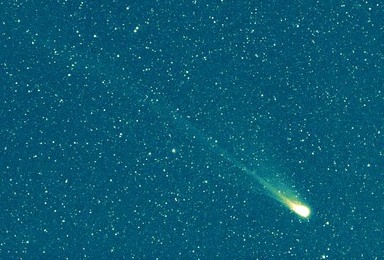 A Swift-Tuttle-üstökös az 1992-es visszatérése idején (Herman Mikuz felvétele)