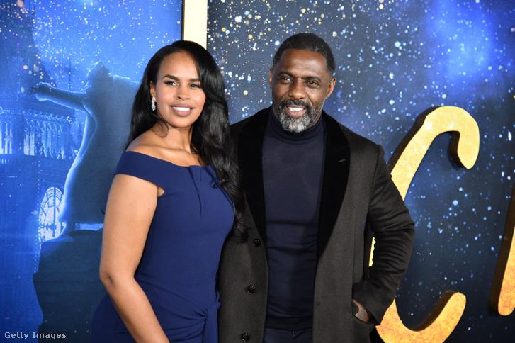 Sabrina Dhowre Elba és Idris Elba