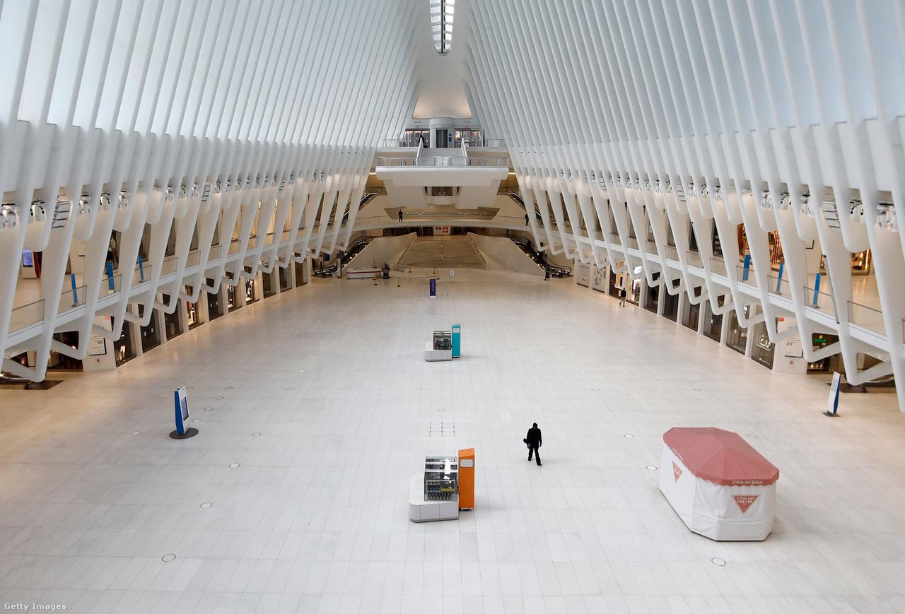 Évi 120 millió látogatás: így ismerjük az Oculus központot a New York-i világkereskedelmi központnál. Ez meg itt az Oculus 2020. március 22-i arca.