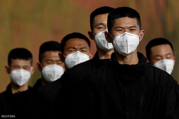 Index - Gazdaság - Úgy pörög a kínai maszk ára, mintha a tőzsdén ...
