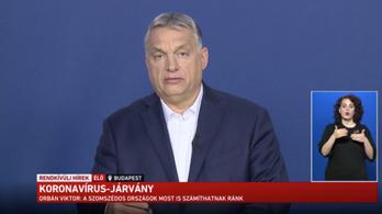 Koronavírus: Orbán Viktor online tájékoztatója
