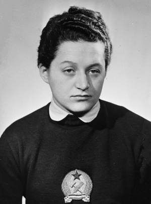 Gyenge Valéria 1956-ban