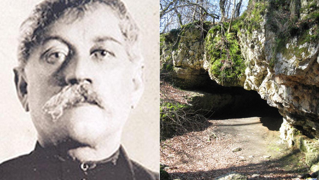 Savanyú Jóska és barlang