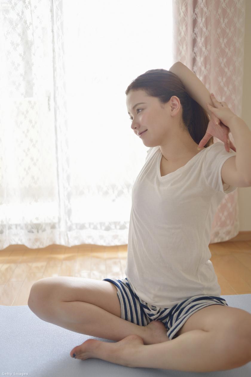 menstruációs fájdalom egészség jóga