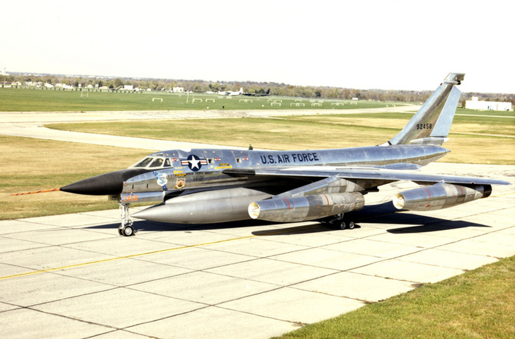 Egy korszak szimbóluma volt a B-58 Hustler