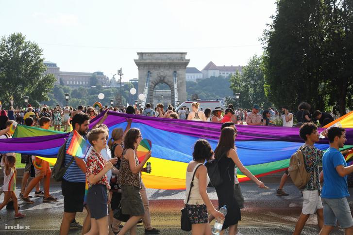 A 2019-es Pride résztvevői