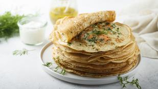 Kifogytál a kenyérből és a tésztából? Készíts fűszeres palacsintametéltet a raguk mellé!