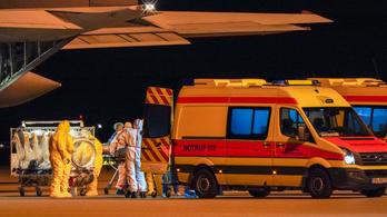 Németország átvett több koronavírusos beteget Olaszországtól