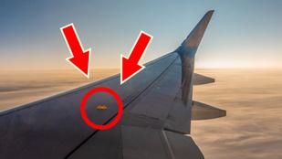 Mi az a hurokszerű izé a repülőgépek szárnyán?