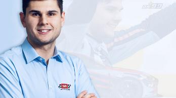 Michelisz hyundaios csapatánál folytatja egy másik magyar versenyző is
