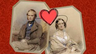 Darwin a saját unokatestvérét vette feleségül. Igen, pont ő!