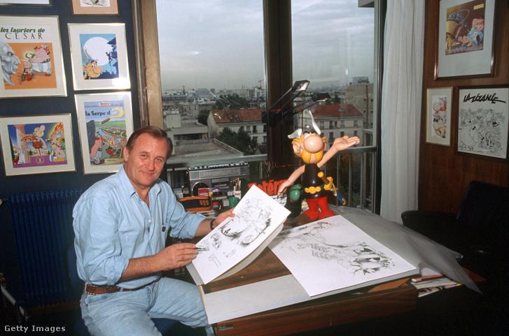 Albert Uderzo 1988-ban Párizsban