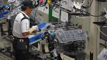 Öt japán gyárát kénytelen leállítani a Toyota