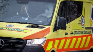 Ízléstelen és veszélyes tréfát űztek a fővárosi mentőkkel