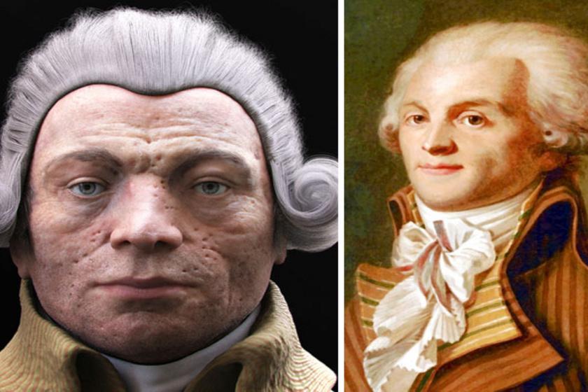 Hogy nézett ki valójában Nofertiti vagy Robespierre? Elképesztően élethűen alkották újra a történelem jelentős alakjait