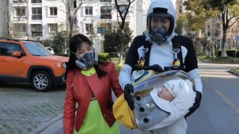 A Death Stranding ihlette egy kínai apuka babahordozóját
