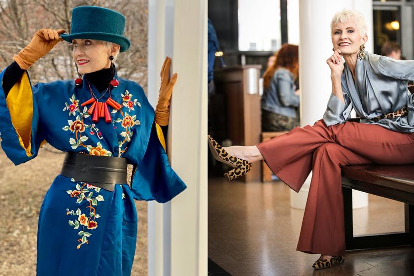A 77 éves gyönyörű blogger új szintre helyezte a nőiességet: esze ágában sincs megöregedni
