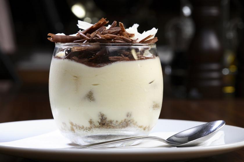 fehér csoki mousse recept