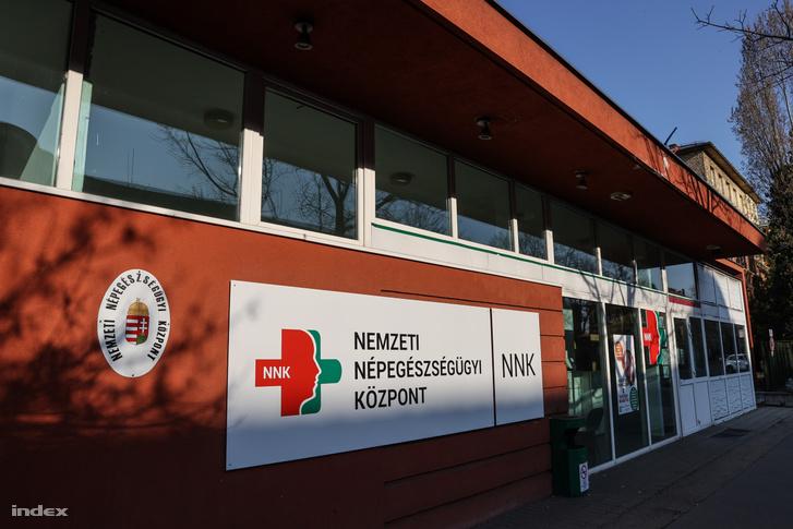 Nemzeti Népegészségügyi Központ épülete Budapesten