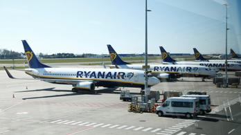 Szinte teljesen leáll a Ryanair