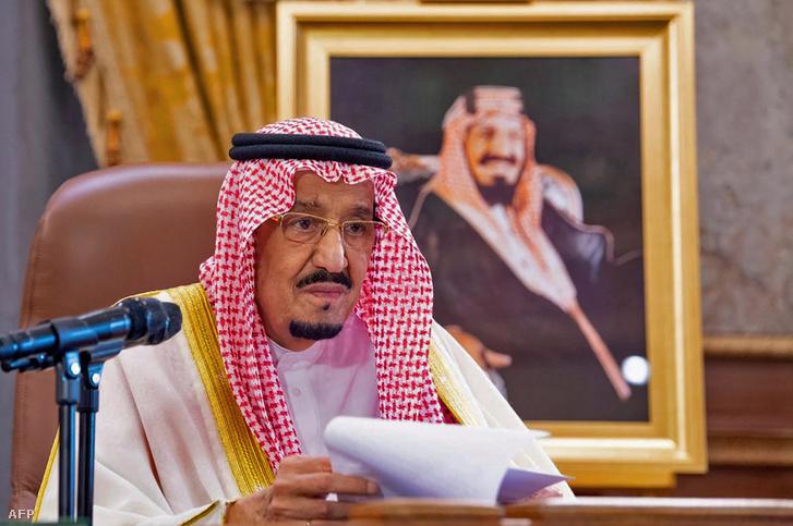 Abdel-Azíz Szalmán szaúdi uralkodó