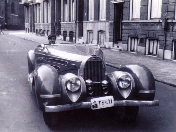 Az egyetlen kép, amit a kocsi régi korszakáról találtam