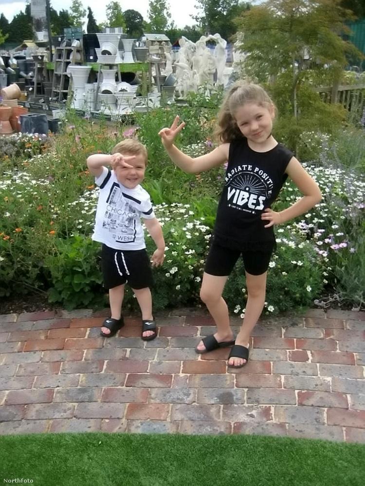 Ők itt Harry és Sophie, a szerencsétlenül járt pár gyermekei