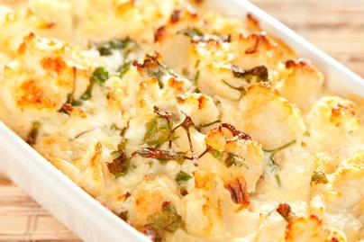Krémes és tápláló rakott karfiol – A sok sajttól lesz igazán finom