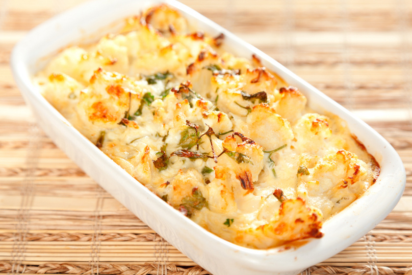 rakott karfiol recept