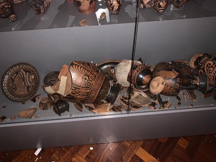 Az ókori görög kerámiák jelentős része összetört