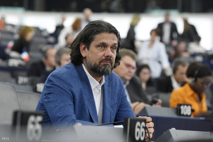 Deutsch Tamás a FIDESZ-KDNP képviselője az Európai Parlament (EP) plenáris ülésén Strasbourgban 2019. július 16-án.