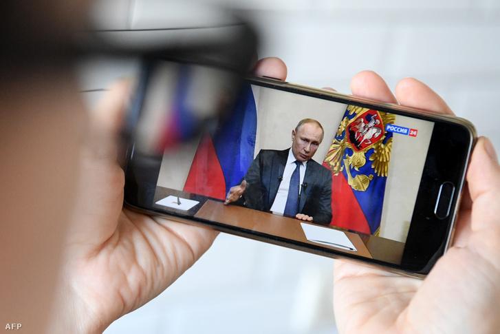 Putyin bejelentése március 25-én