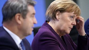 Merkel második koronavírustesztje is negatív lett