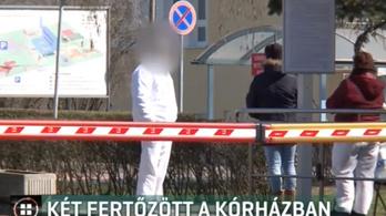 Két ember is elkapta a koronavírust a kisvárdai kórházban
