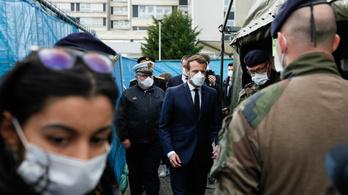 Egy nap alatt 231 ember halt meg Franciaországban a koronavírus-járványban