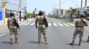 Peruban 16 ezer embert tartóztattak le a kijárási tilalom megszegése miatt