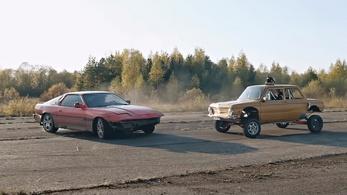 Zaporozsec buggy és háromkerekű drift Lada