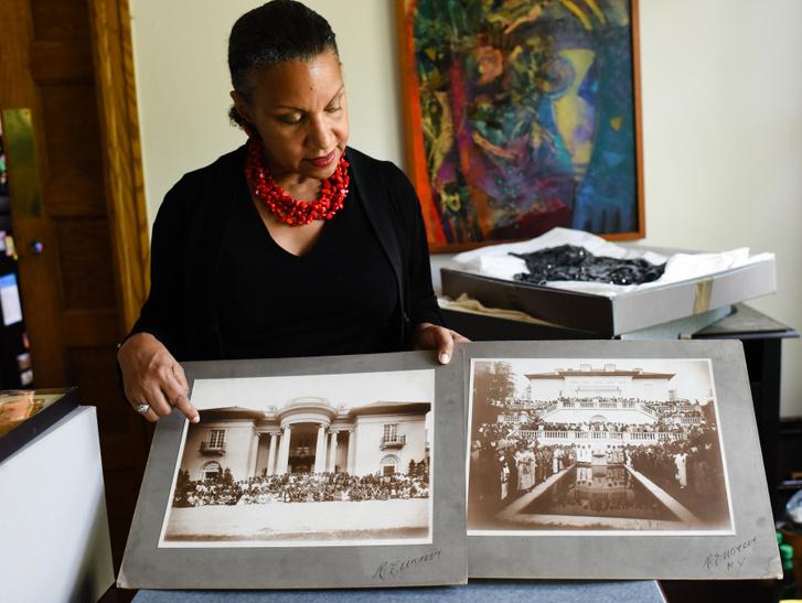 A'Lelia Bundles, Madame C. J. Walker ükunokája, az On Her Own Ground: The Life and Times of Madam C. J. Walker című könyv szerzője