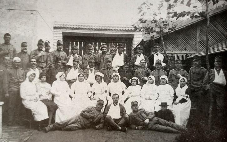 Hadikórház az első világháborúban, Kiskunhalas