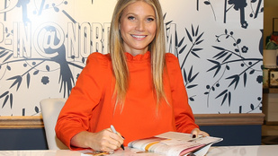Gwyneth Paltrow teljes védőszerelésben szaladt le petrezselymet venni