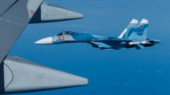 A Fekete-tengerbe zuhant egy orosz vadászrepülőgép