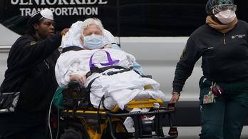 Amerikában szerdán haltak meg eddig a legtöbben a járványban