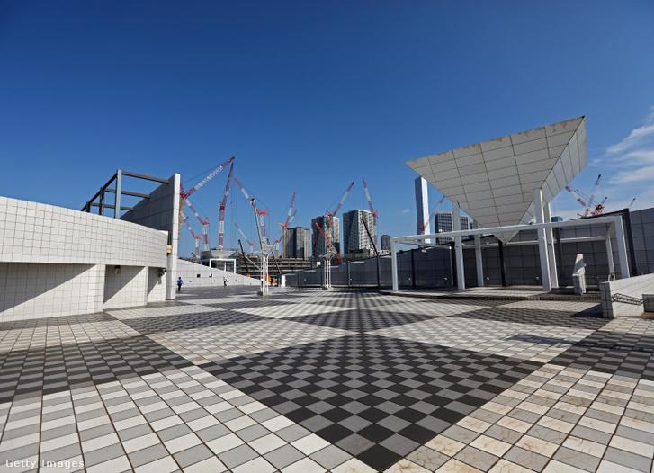 Az épülő tokiói olimpiai falu