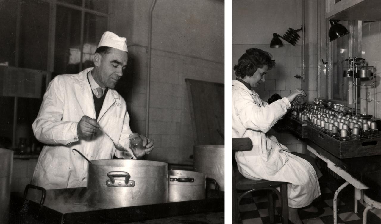A Köjál Váci úti központjában laboratóriumi vizsgálatok is folytak – és folynak jelenleg is.
