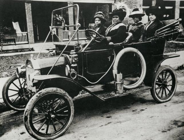 A volánnál Madame C. J. Walker