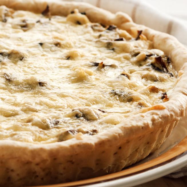 Szaftos, tejszínes csirkés-gombás pite – Omlós tészta rengeteg töltelékkel