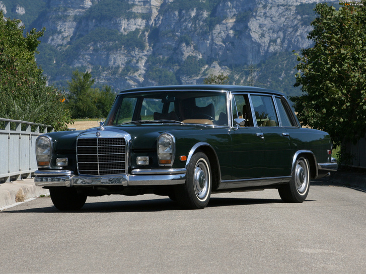 mercedes-benz s-klasse 1964 photos 1