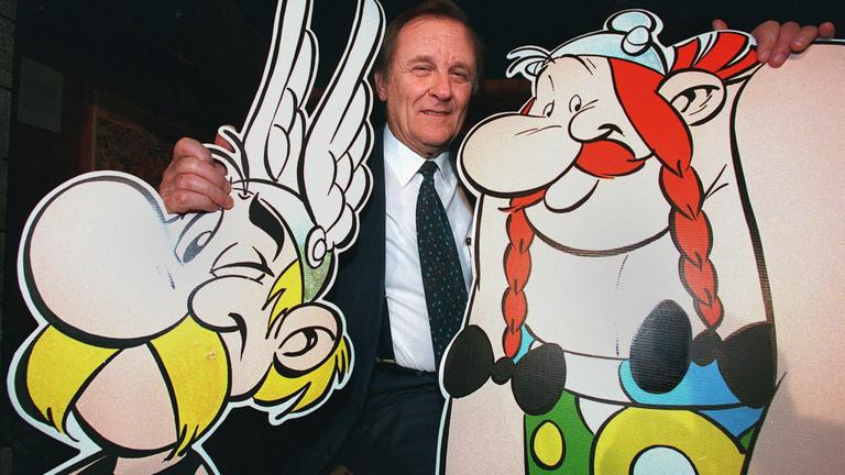 Nyolc képsor arról, hogy miért imádtuk az Asterix rajzolóját