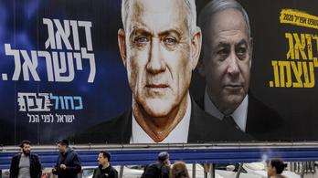 Netanjáhu kiegyezett legnagyobb ellenfelével, egységkormány jön Izraelben