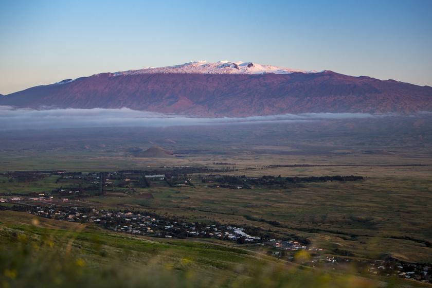 A Mauna Kea.